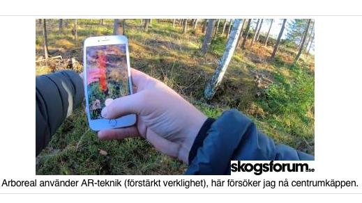 Skogsforum testar Arboreal Skog
