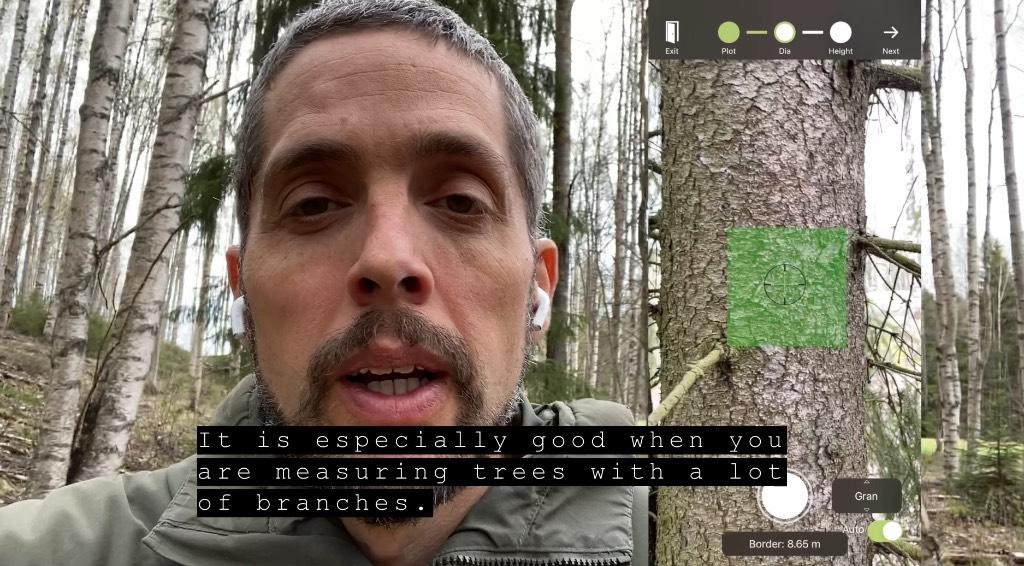 Ny uppdatering av Arboreal Skog. Hur bra fungerar Lidarsensorn i iPhone 12 Pro?