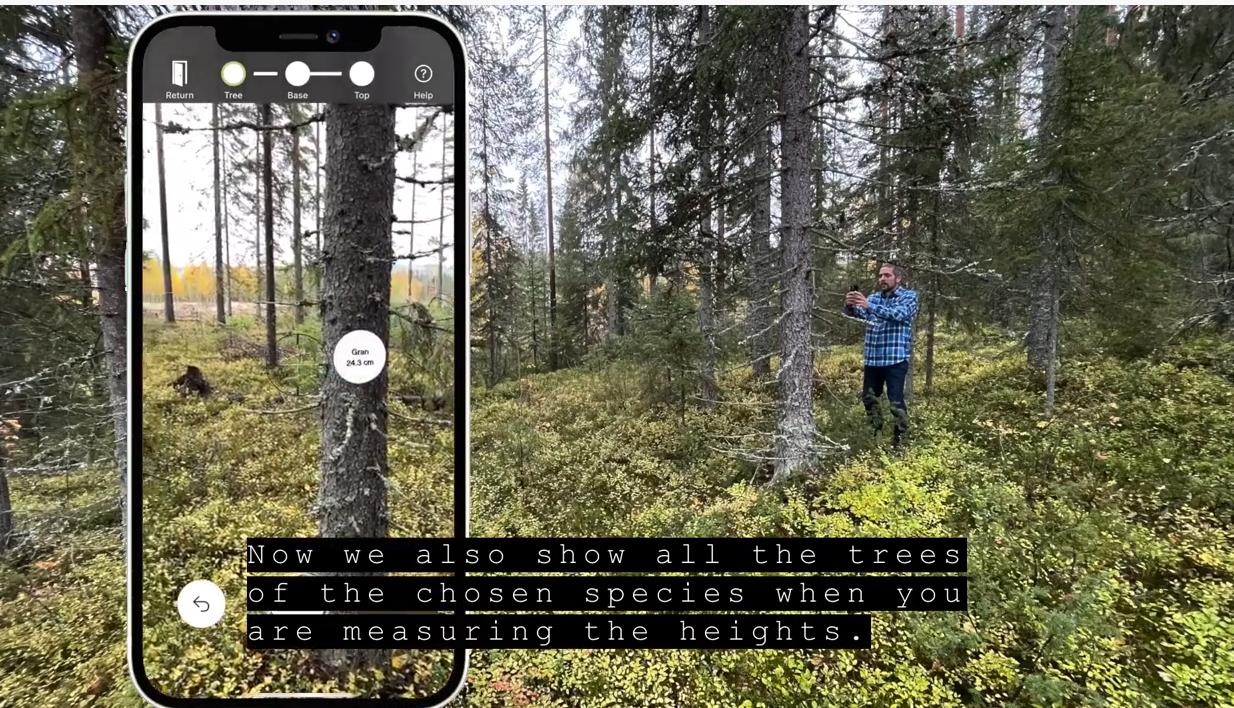 Ny uppdatering av Arboreal Skog